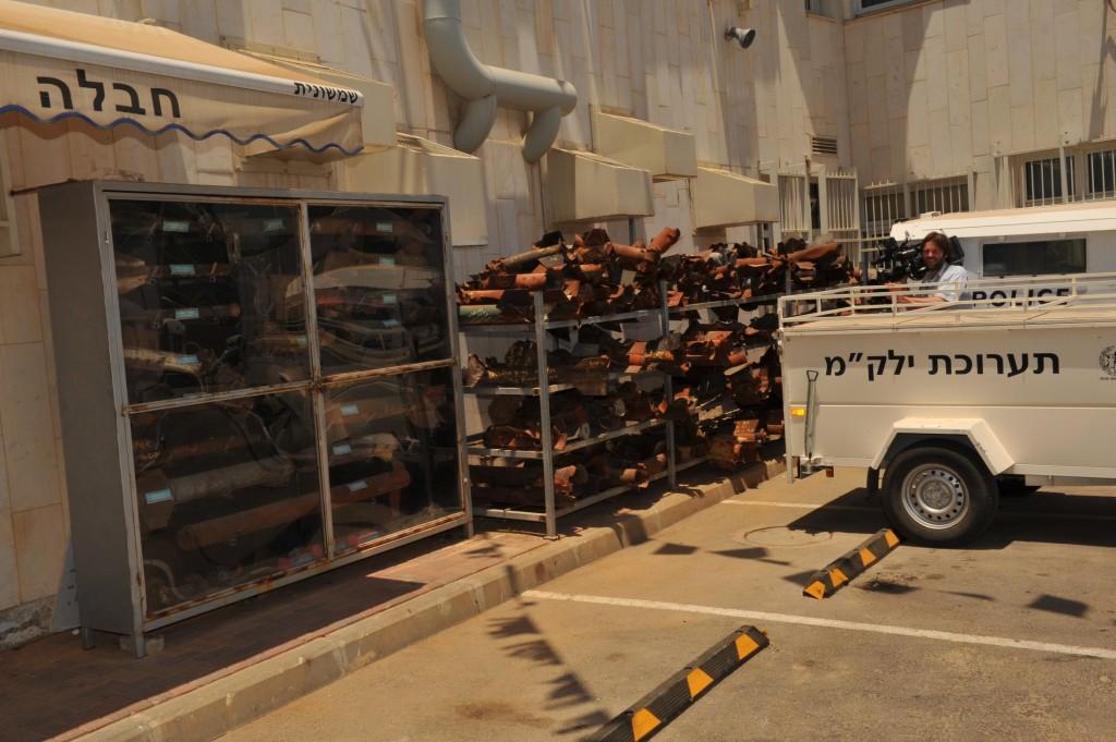 Rakety odpálené z Gazy na Izrael